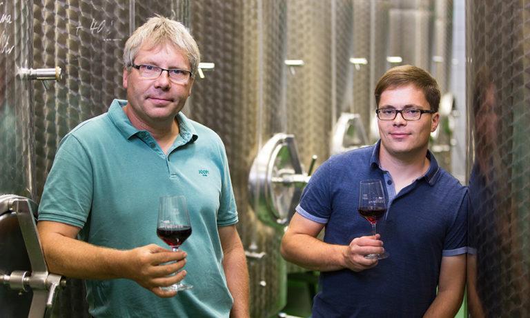 Kellermeister Volkmar und Moritz